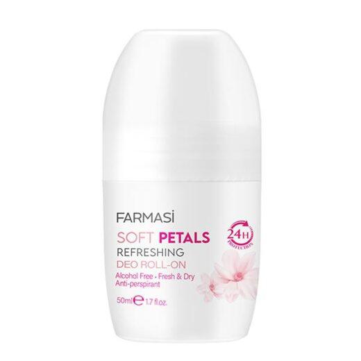 FARMASI Deo Roll On Soft Petals 50 ml