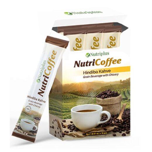 Farmasi NUTRICOFFEE CAFEA CU CICOARE - PLICULETE
